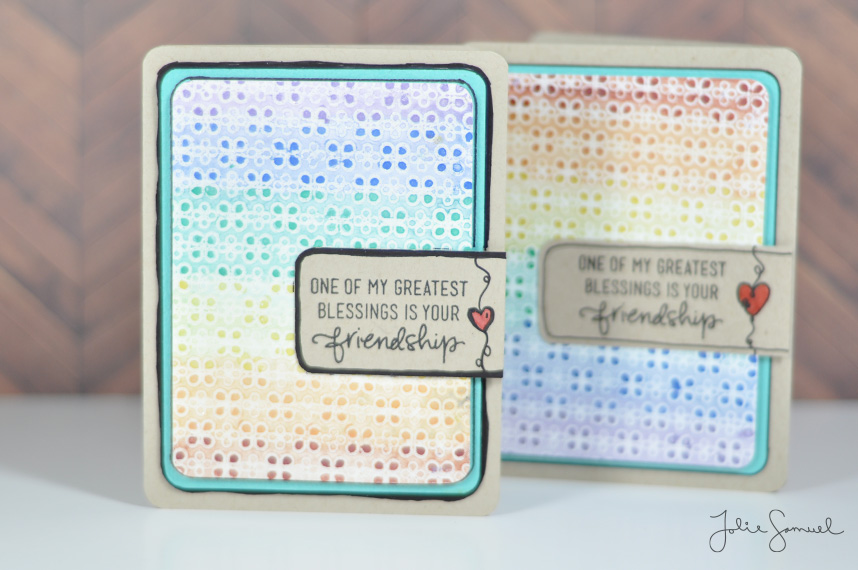 Friendship-Card-Watercolor-Dots
