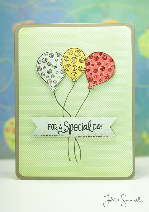For A Special Day - Birthday Card
