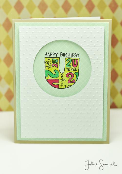 Happy Birthday 2 U